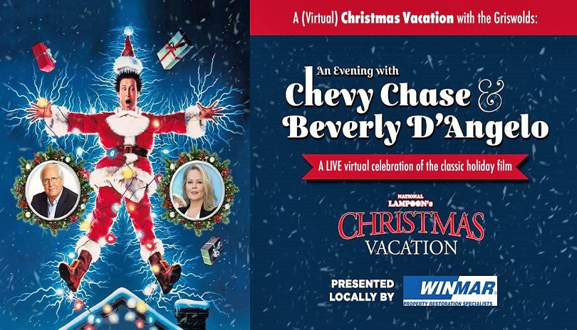 A (Virtual) Christmas Vacation with the Griswold's: An Evening with Chevy Chase and Beverly D'Angelo