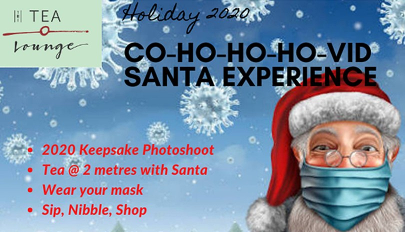 COVID Christmas 2020: Santa Photoshoot & Tea Experience - Dec. 11
