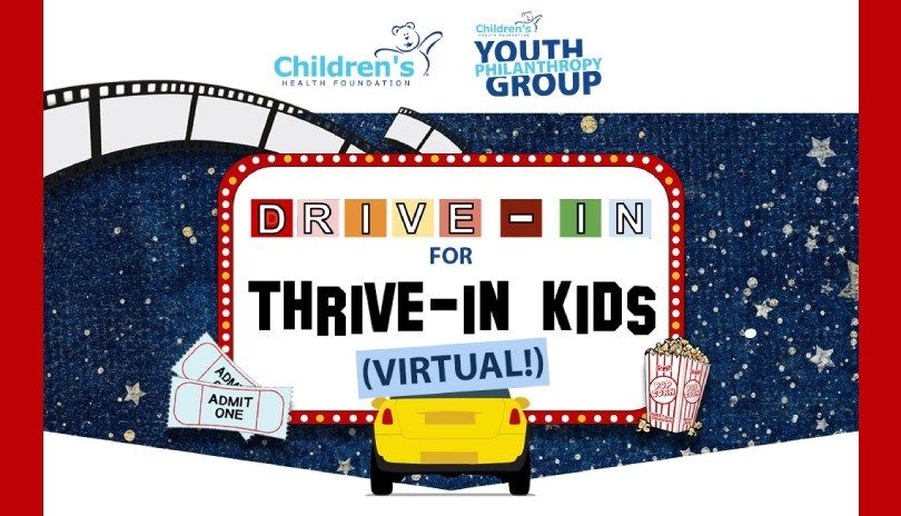 Drive-In For Thrive-In Kids
