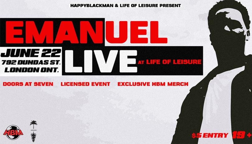 Emanuel LIVE at LIFE of Leisure