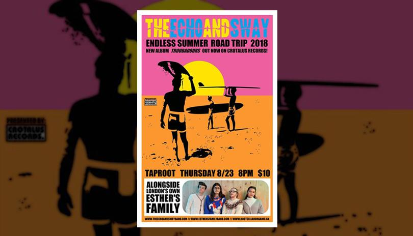 Esther's Family EP Release w/ guests The Echo & Sway at Taproot