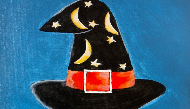 Youth Acrylic Hat Art Class