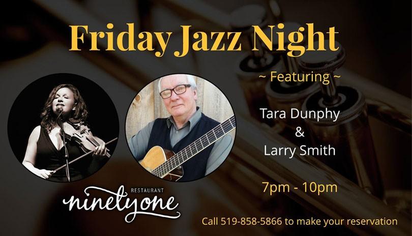 Friday Jazz Night ft. Tara Dunphy & Larry Smith