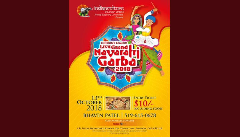 Grand Navratri Garba-2018