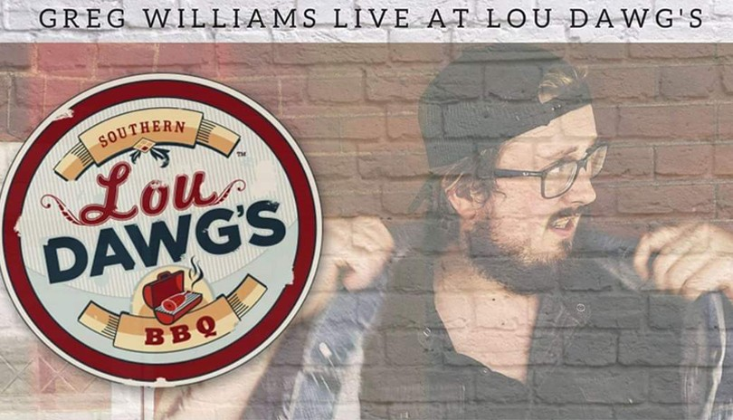 Greg Williams December 7 at Lou Dawg's London