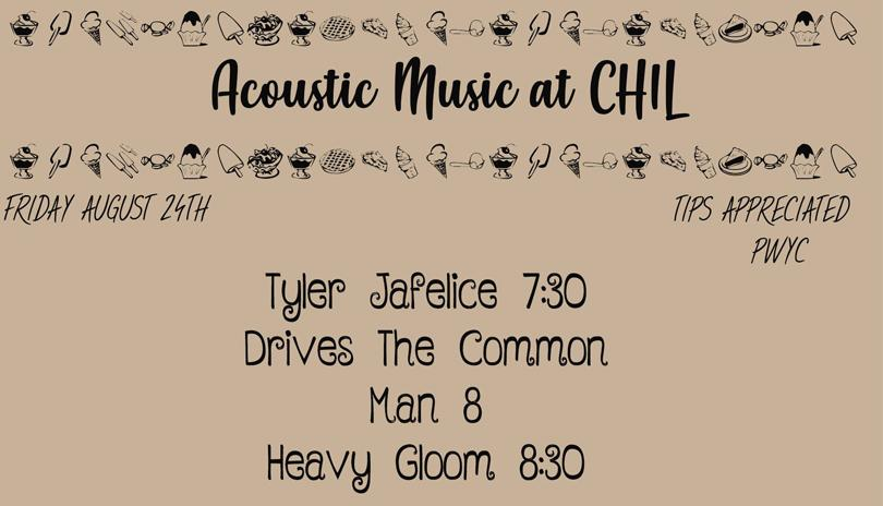 Heavy Gloom, Drives The Common Man, Tyler Jafelice at Chil