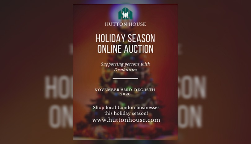 Hutton House Holiday Season Online Auction