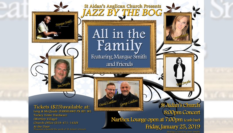 Jazz By The Bog - All In The Family