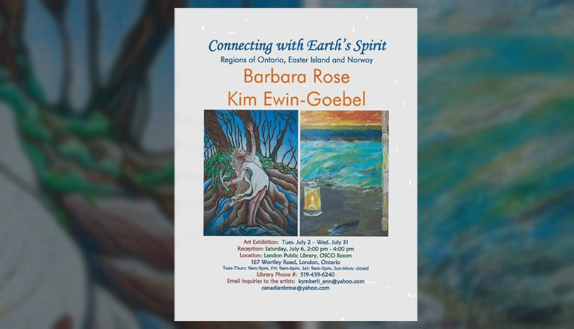 Connecting With Earth's Spirit - Art Show and Reception