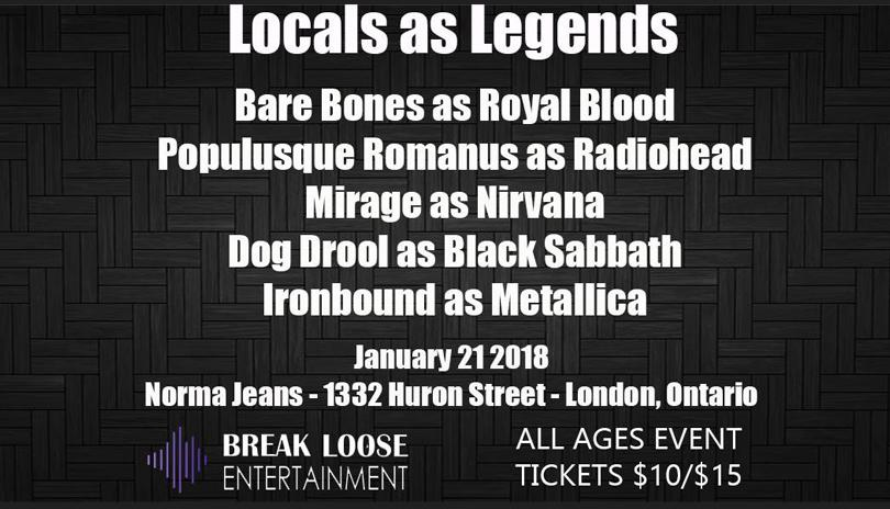 London Locals as Legends: 1st Edition