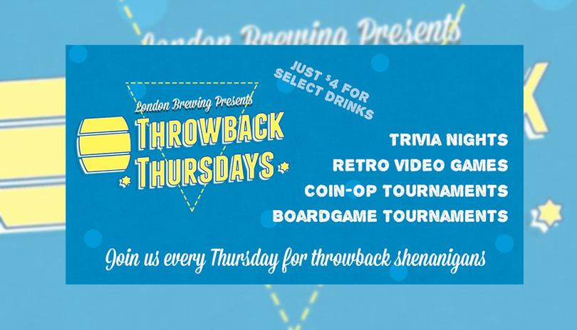 Throwback Thursdays - August 23