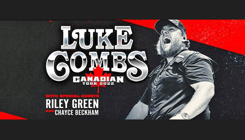 Luke Combs - Canadian Tour 2022 With Riley Green and Chayce Beckham
