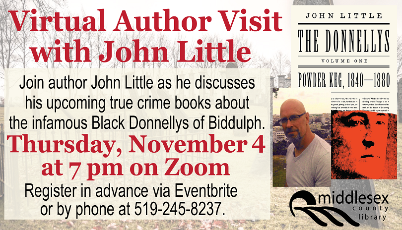 Virtual Author Visit with John Little