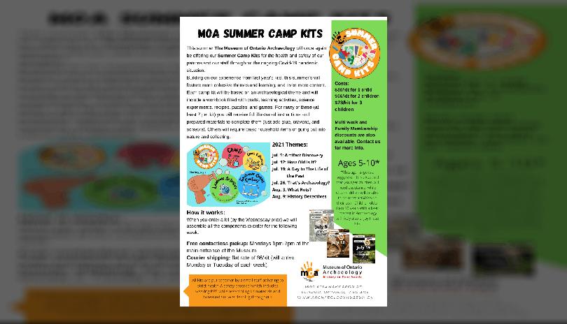 Summer Camp Kits