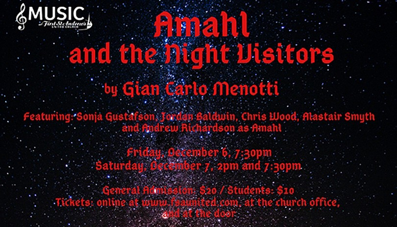 Music at FSA - Amahl and the Night Visitors