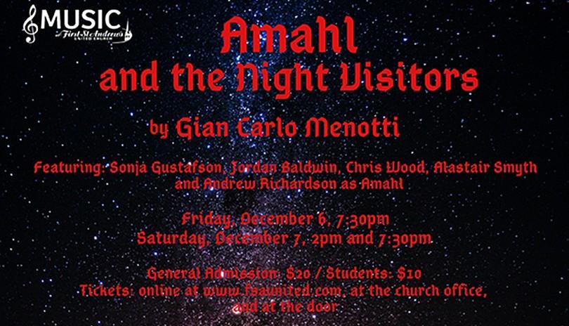 Music at FSA - Amahl and the Night Visitors