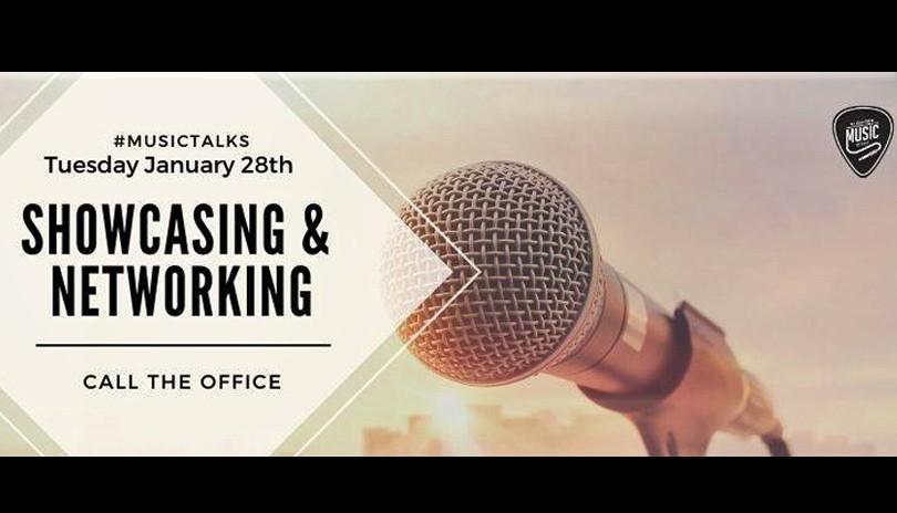 Music Talks: Showcasing & Networking