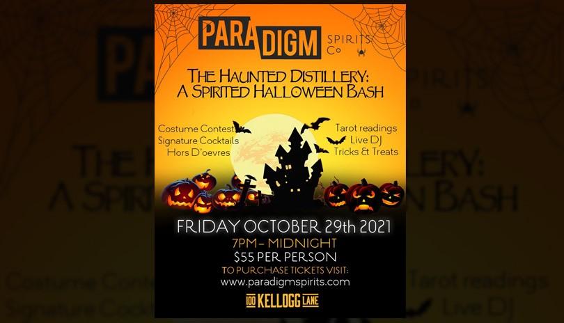 The Haunted Distillery - A Spirited Halloween Bash