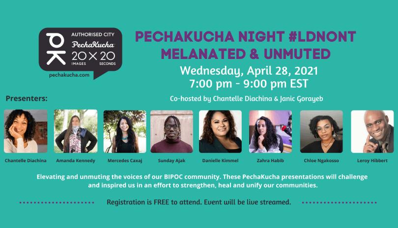 PechaKucha Night - Melanated & Unmuted