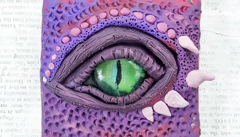 Plasticine Art Class Dragon Eyes