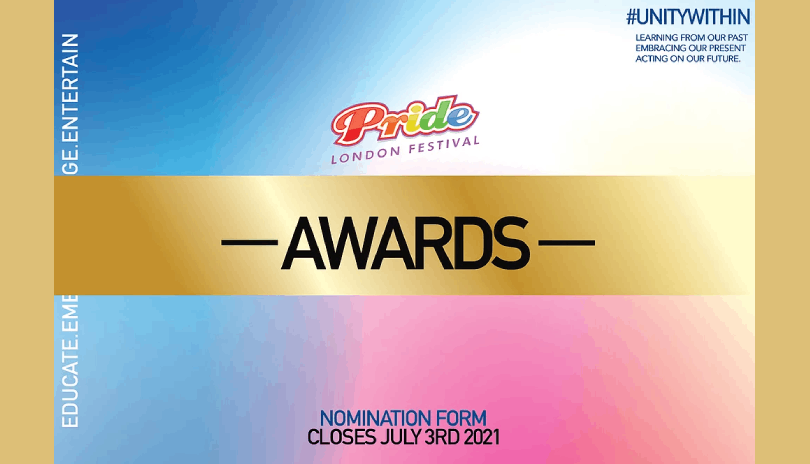2021 Pride London Festival Award Nominations