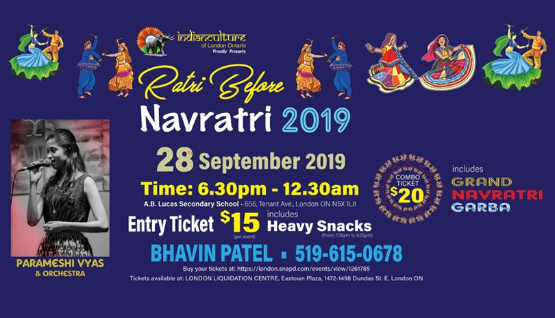 RATRI BEFORE NAVRATRI ( Traditional Indian Folk Dance)