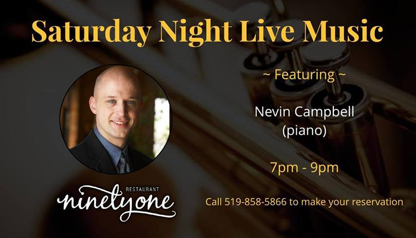 Saturday Night Live Music featuring Nevin Campbell