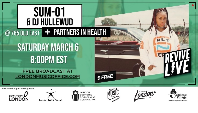 Revive Live with Sum-01, DJ Hullewud and Partners In Health