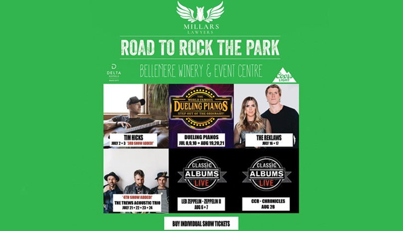 Road to Rock the Park - Patio Series