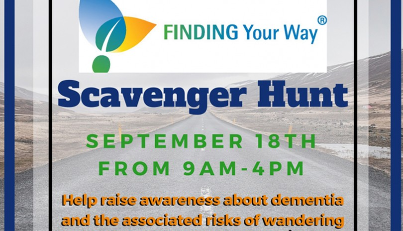 Finding Your Way Scavenger Hunt