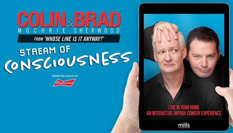 Colin Mochrie & Brad Sherwood: Stream of Consciousness
