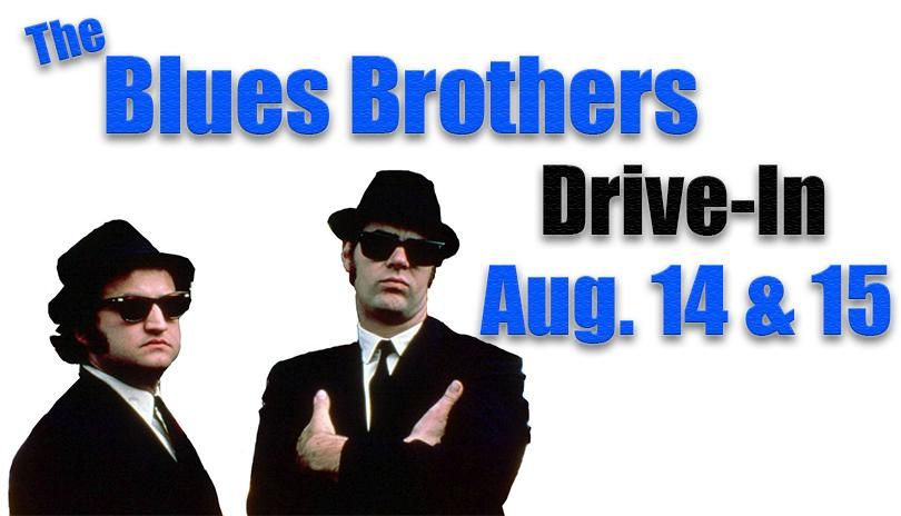 Drive-In Movie - The Blues Brothers