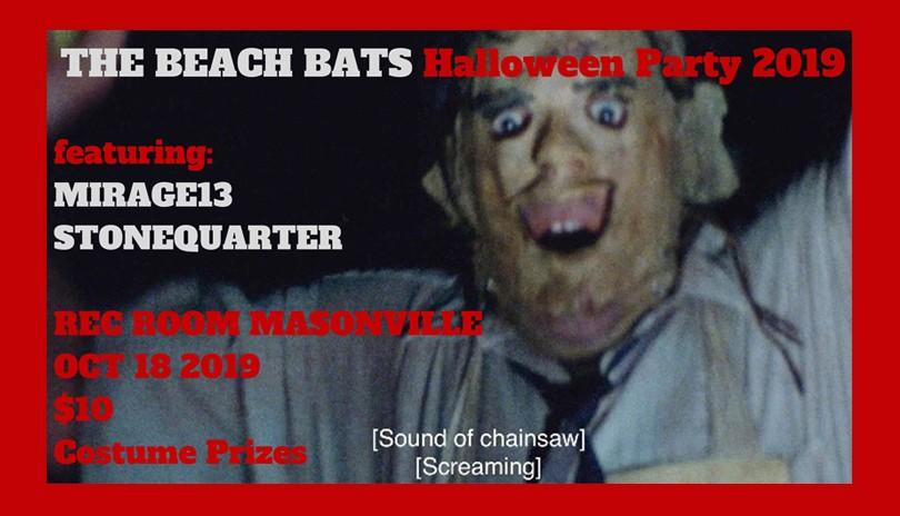 The Beach Bats Halloween Party