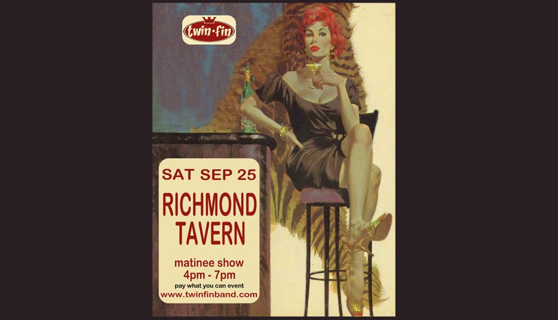 Twin Fin live at the Richmond Tavern - September 25