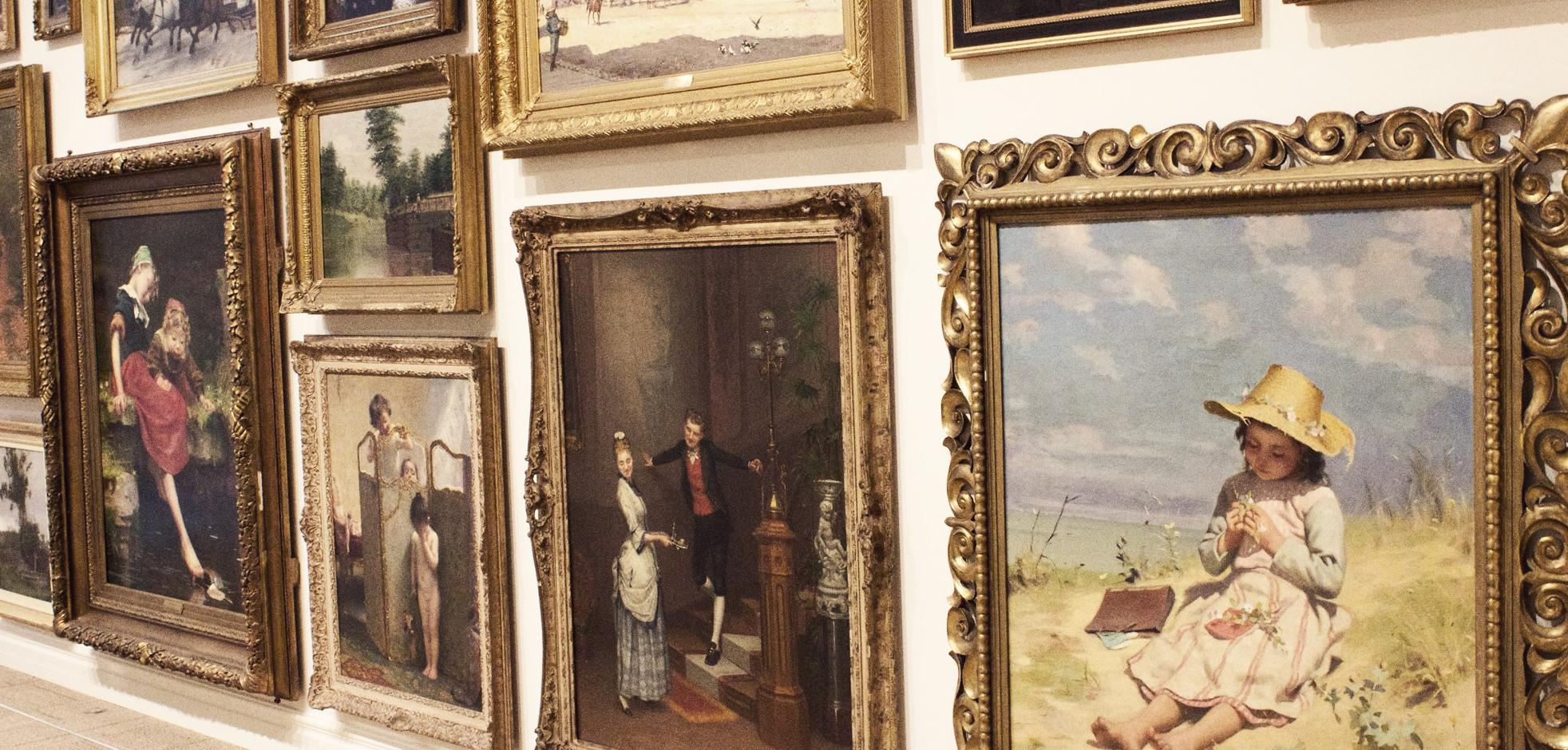 Various historical paintings from Paul Peel, the Group of Seven and other artists on display at at Museum London