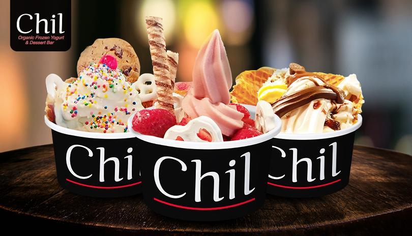 Chil Organic Frozen Yogurt & Dessert Bar
