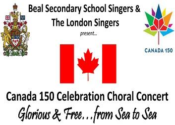 Canada 150 Celebration Concert...Glorious & Free....From Sea to Sea