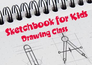 Sketchbook for Kids - 6 week course art class
