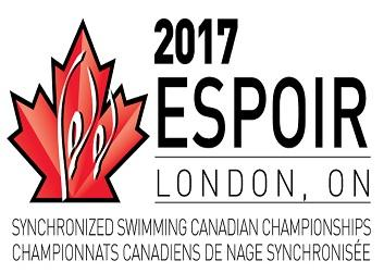 2017 ESPOIR Synchronized Swimming Canadian Championships