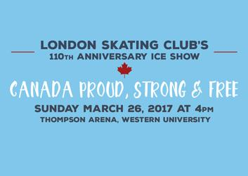 London Skating Club's 110th Anniversary Ice Show & Silent Auction