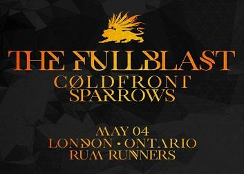 The Fullblast, ColdFront, Sparrows & The Blackbox Review