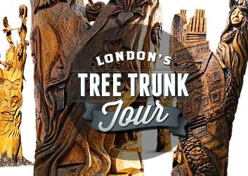 London's Tree Trunk Tour