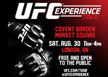 UFC Experience Tour is stopping in London, Ontario