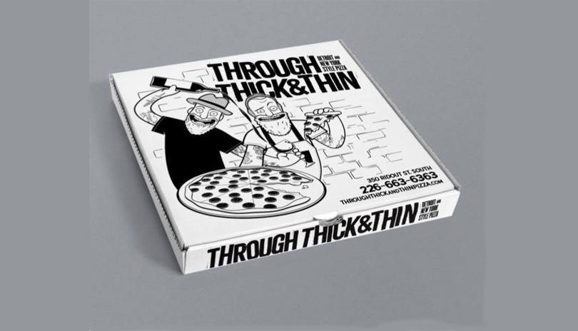 Through Thick & Thin Pizza