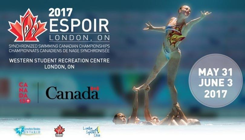 London Synchro Club set to host the 2017 Espoir Synchronized Swimming Canadian Championships