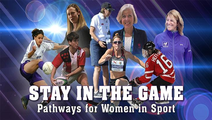 Stay in the Game Conference - Pathways for Women in Sport