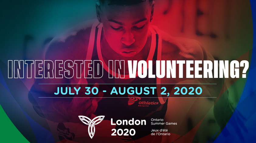 Volunteer Registration now open for the London 2020 Ontario Summer Games