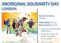 Aboriginal Solidarity Day London