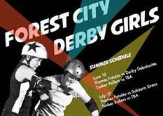 Forest City Derby Girls Double Header