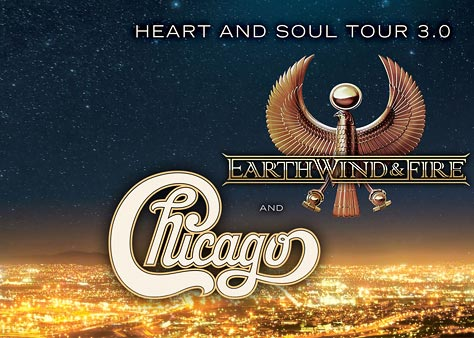 Chicago and Earth, Wind & Fire